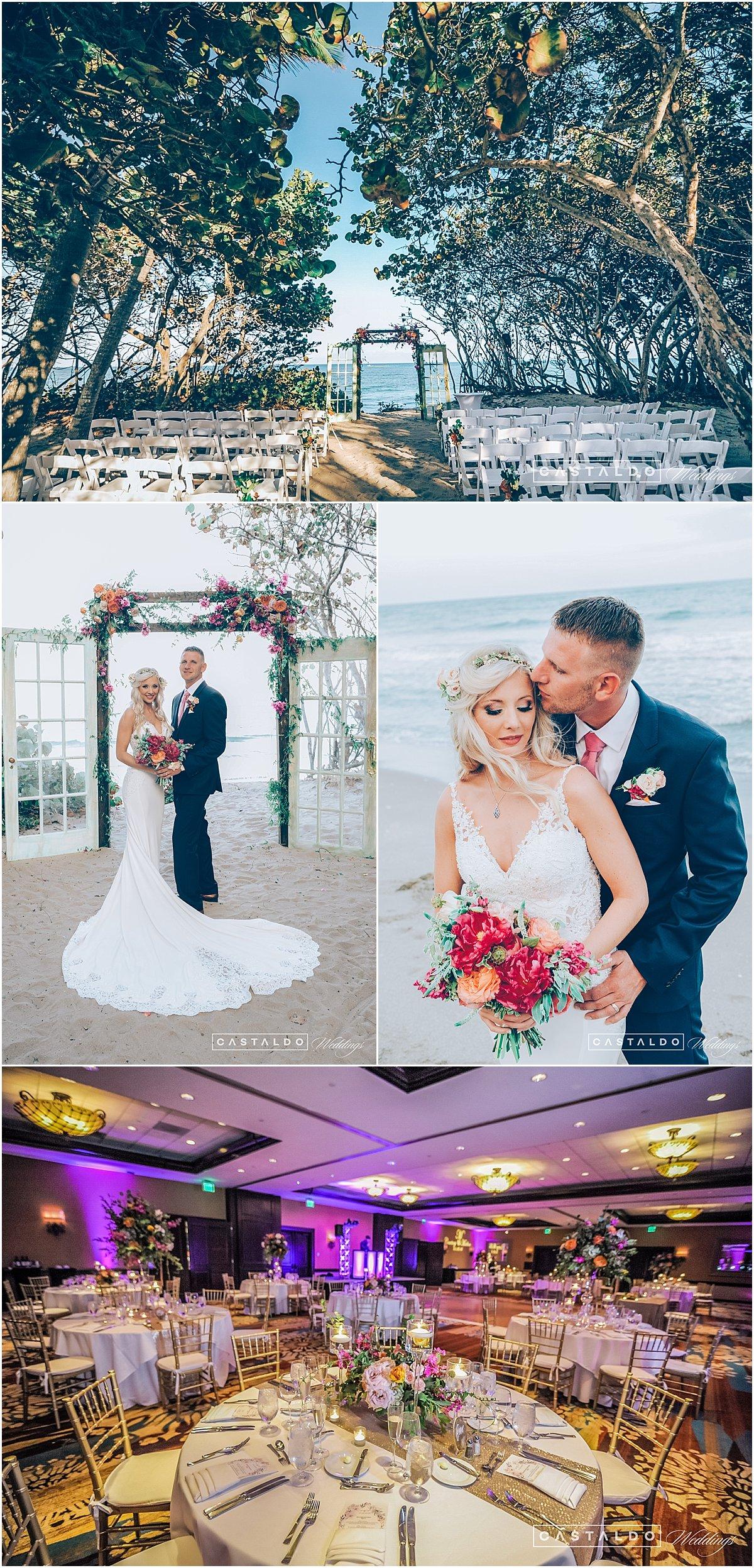 Beach Wedding Venue Castaldo Weddings Jupiter Resort