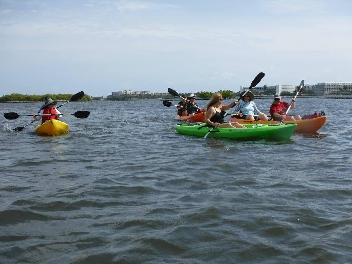 Bachelorette Party Ideas-Kayak Lake Worth