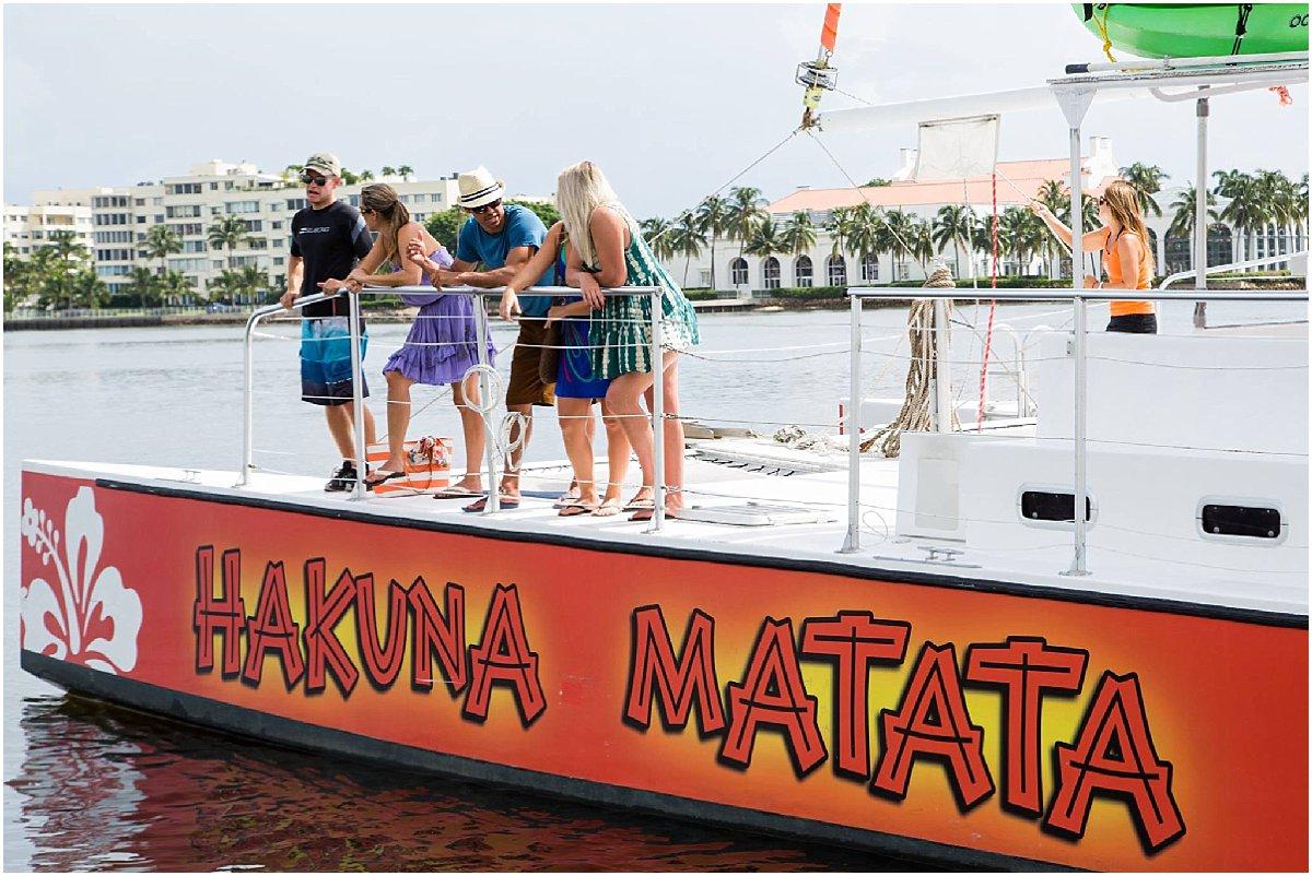 Bachelorette Party Ideas-Hakuna Matata Sunset Cruise