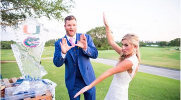12 Fun Ways to Show Off Your College Pride at Your Palm Beach Wedding