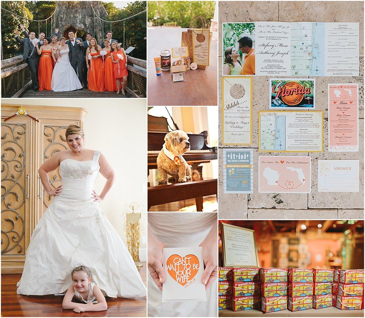 Palm Beach Zoo Wedding_Robert Madrid Photography and Krystal Zaskey Photography