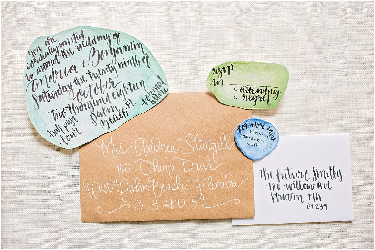 DIE Cut Wedding Invitation by Chirp Paperie_Kenneth Smith Photography