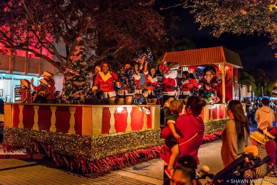 Palm Beach Holiday Photo Spots_Lake Worth Holiday Parade