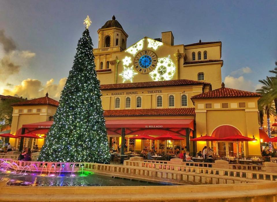Palm Beach Holiday Photo Spots_CityPlace Snow