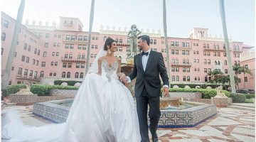 Chesterfield palm beach wedding