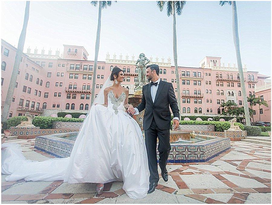 Palm Beach Wedding Venue Boca Raton Resort Chris Joriann Photography