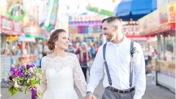 12 Fun Filled Details from a Fair Themed Wedding