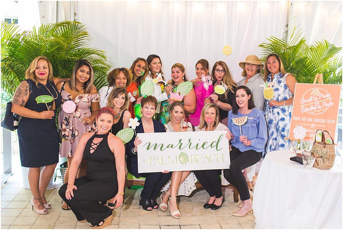 Impossibly Fun Palm Beach Wedding Ideas Married In Palm Beach